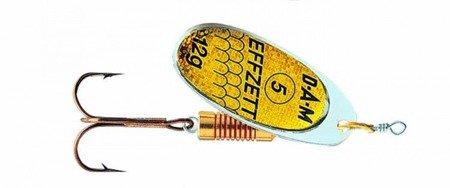 Błystka Obrotówka DAM EFFZETT STANDARD SPINNER Reflex Gold 3 / 6g
