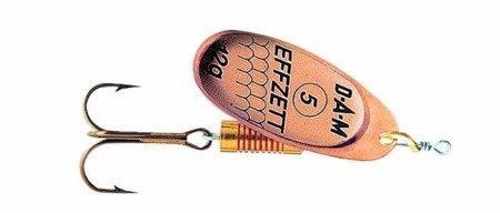 Błystka Obrotówka DAM EFFZETT Standard Spinner Copper 4 / 10g