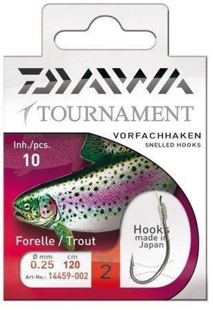 Haki z przyponami Daiwa Tournament Pstrąg nr 2