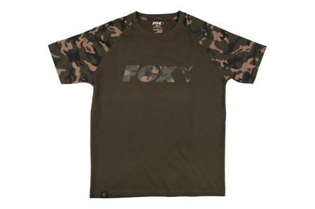 Koszulka Fox Chest Print Camo / Khaki T-Shirt S