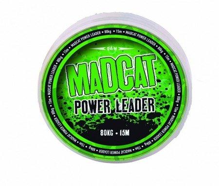 Plecionka przyponowa DAM MADCAT POWER LEADER 80kg - 15m