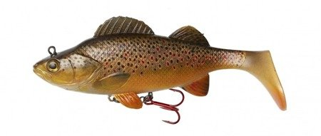 Przynęta DAM EFFZETT NATURAL PERCH PADDLE TAIL 18CM BROWN TROUT