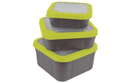 Pudełko Matrix BAIT BOXES GREY/LIME 1,56L