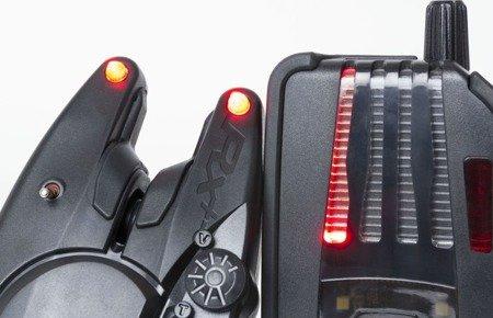 Sygnalizator brań Fox RX+ 4-Rod Presentation Set