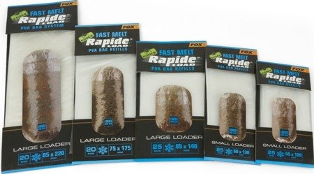 Woreczki Fox Edges™ Rapide™ Load PVA Bag Refills Fast Melt 75x175